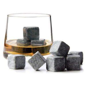 Cubitos de bebida de piedra 9 uds. voscuro