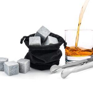 Cubitos de bebida de piedra 6 uds. Por supuesto