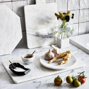 Bianco Carrara marble bowl 20cm