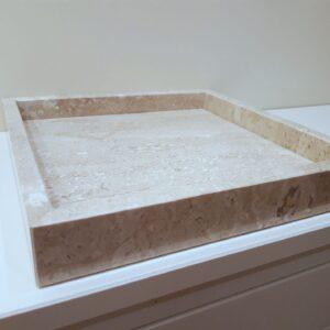 Bandeja mármol Breccia 29x29cm