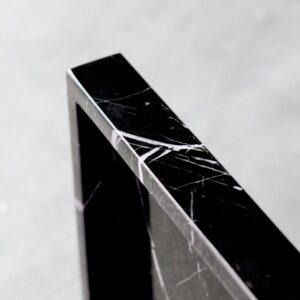 Taca z marmuru Nero Marquina 40x40cm