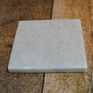 Crystal White marble stand 10x10cm 6pcs