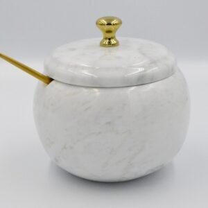 Cukiernica z marmuru Bianco Carrara