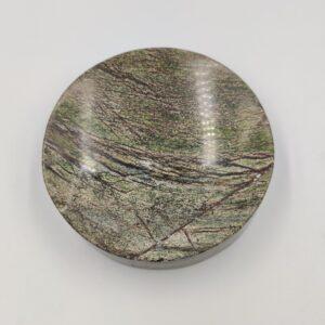 Mydelniczka z marmuru Rainforest Green 12x12cm