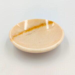 Mydelniczka z marmuru Rosse Portogalo 12x12cm