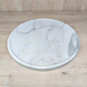 Bandeja de mármol Statuario Venato 27 cm