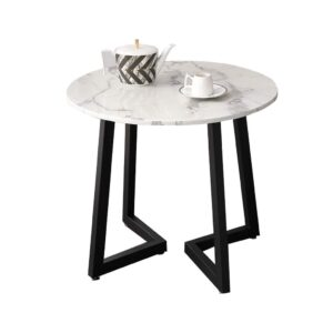 Carrara Round 60/63 marble table