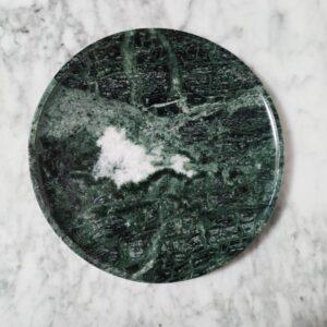 Taca z marmuru Werde Gwatemala 27 cm