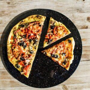 Kamień do pizzy, deska do krojenia granit naturalny 32 cm