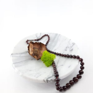 Misa z marmuru Bianco Carrara 15cm