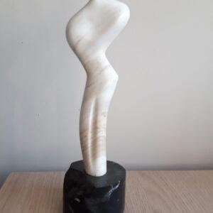 Carrara natural marble statuette