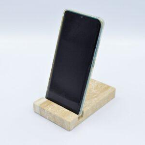 Podstawka na telefon z marmuru Breccia Sarda 13 x 8cm