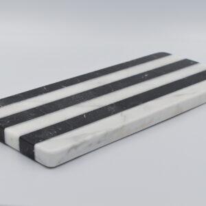 Taca do serwowania Carrara & Marquina 30cm x 15cm
