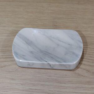 Jabonera de mármol Bianco Carrara