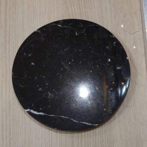 Taca z marmuru Nero Marquina 25cm