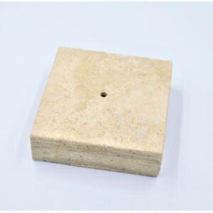 Podstawka Trawertyn antyk 10 x 10 x 3cm