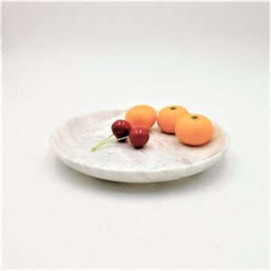 Misa z marmuru Bianco Carrara 25cm