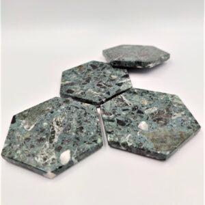 Base de mármol hexagonal Werde Alpi