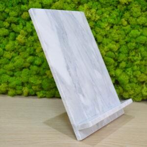 Stojak podstawka na tablet, telefon Bianco Carrara