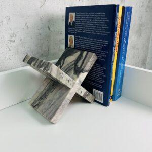 Podpórka do książek marmur Rose Portogalo