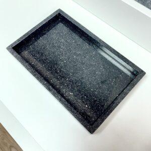 Taca z granitu Star Galaxy 27cm x 17cm
