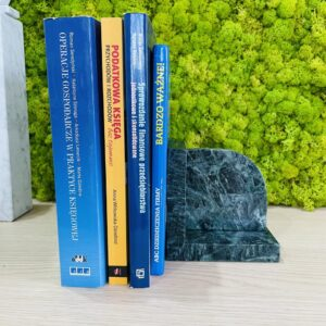 Podpórka do książek z marmuru Werde Gwatemala