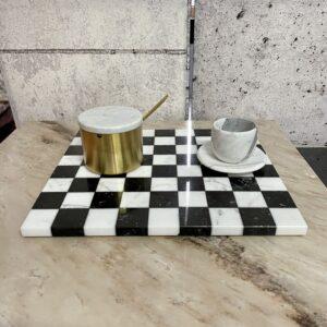 Taca do serwowania Carrara & Marquina