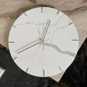 Zegar ścienny z konglomeratu kwarcowego 40cm