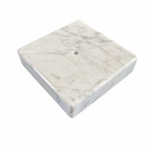Podstawka Bianco Carrara 10 x 10 x 2cm