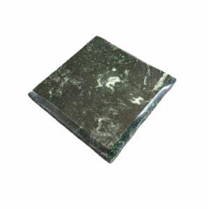 Podstawka z marmuru Werde Gwatemala 10 x 10 x 2cm