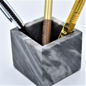 Pojemnik kubek z marmuru Bardiglio model 2