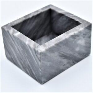 Pojemnik kubek z marmuru Bardiglio model 3