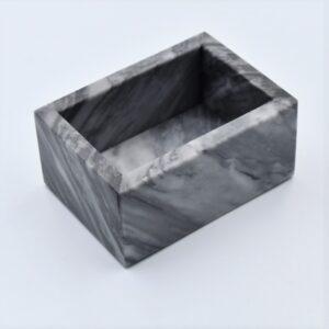 Pojemnik kubek z marmuru Bardiglio model 4